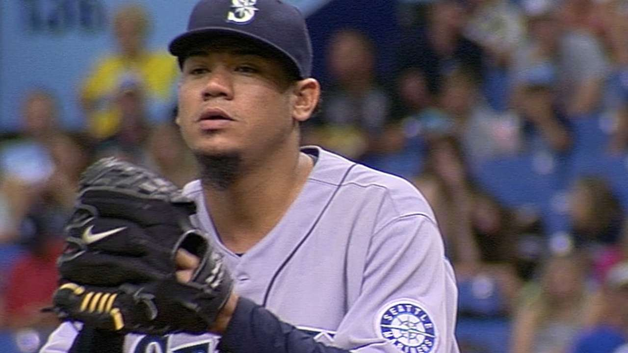Felix named AL Pitcher of the Month for June