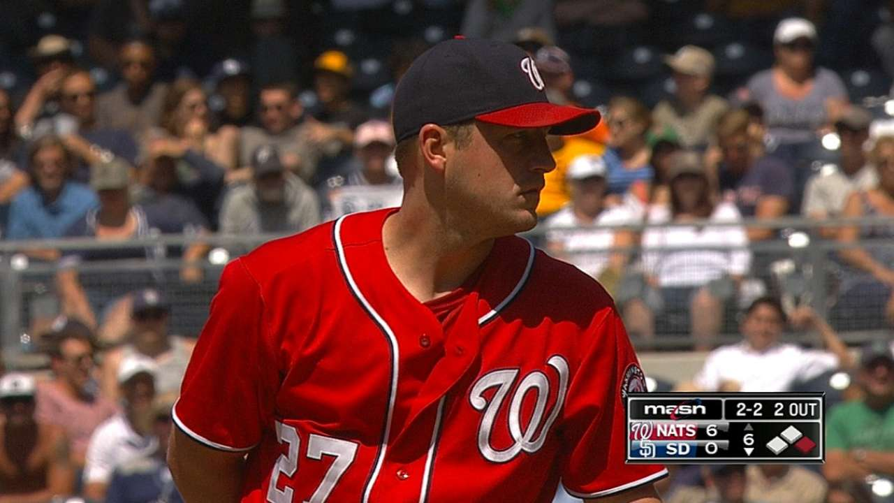 Zimmermann allows just two baserunners in shutout