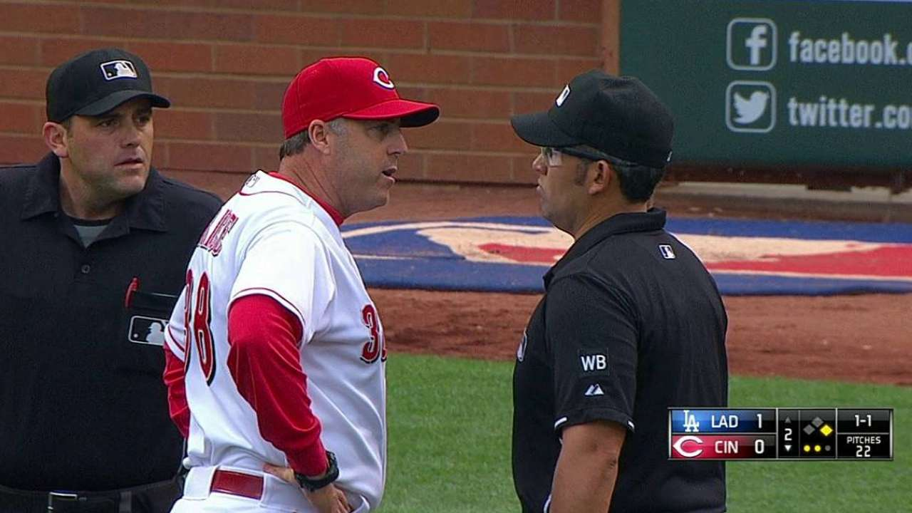 Replay confirms foul ball on Cozart bid for homer