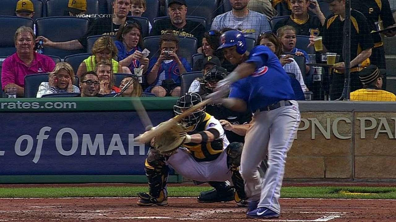 Castro's strong game not enough for Cubs