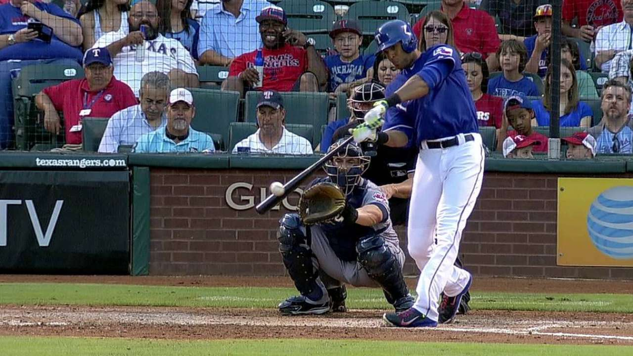 Rios, Beltre holding steady through team's adversity