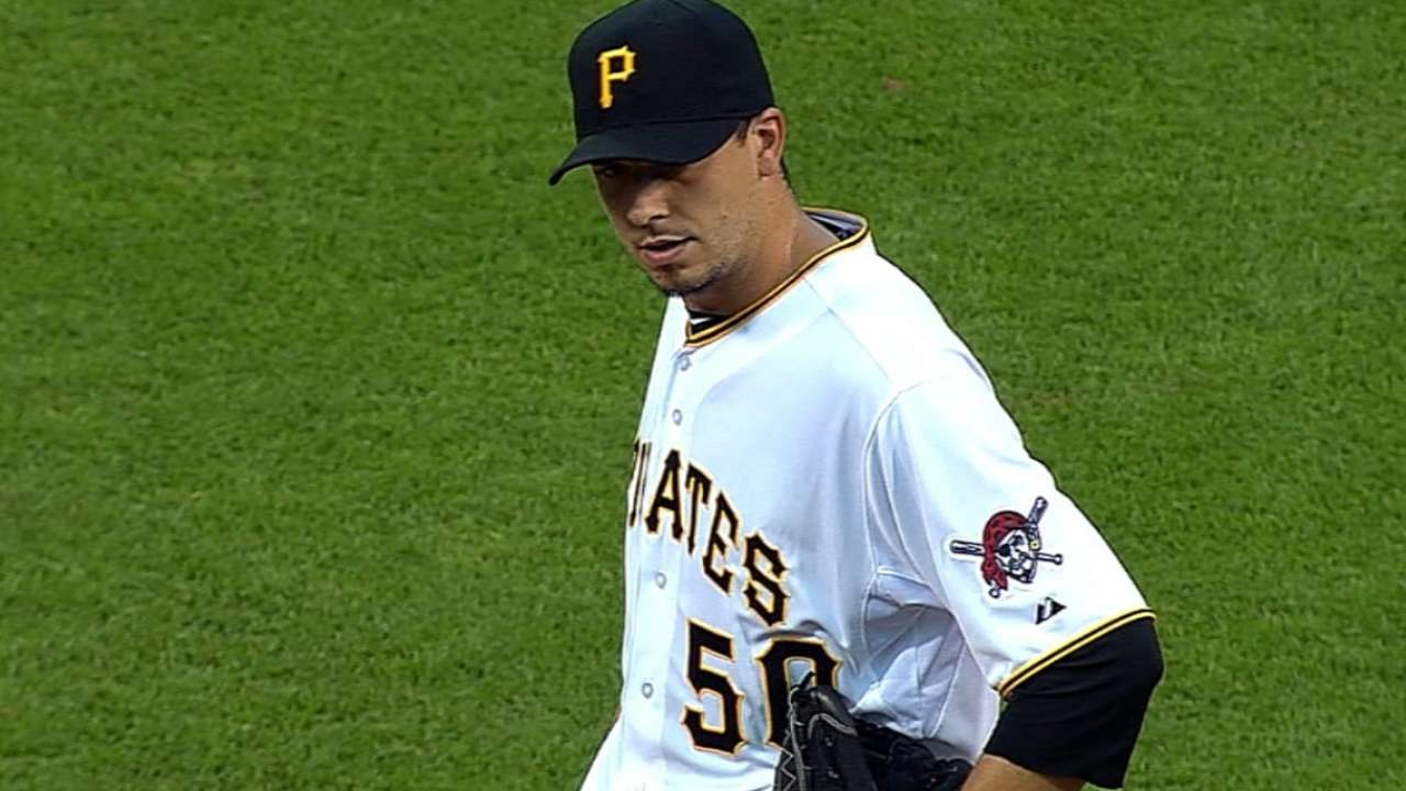 Bates, pitcheo de Cubs sin respuestas vs. Piratas