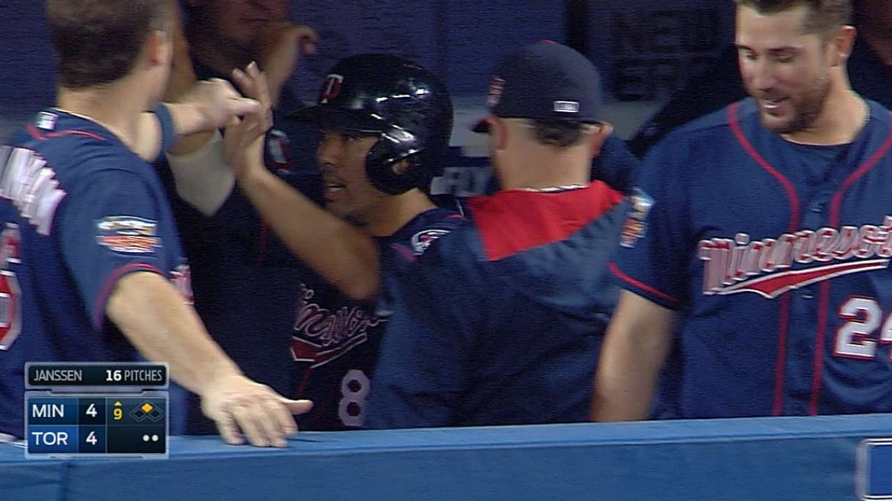 Twins rally to tie but fall victim to walk-off