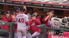 Strasburg sizzles as Desmond drives in five