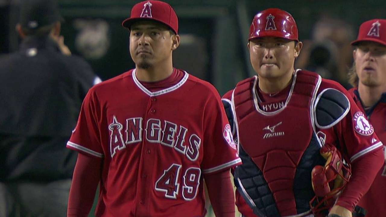 Angels not going with one defined closer