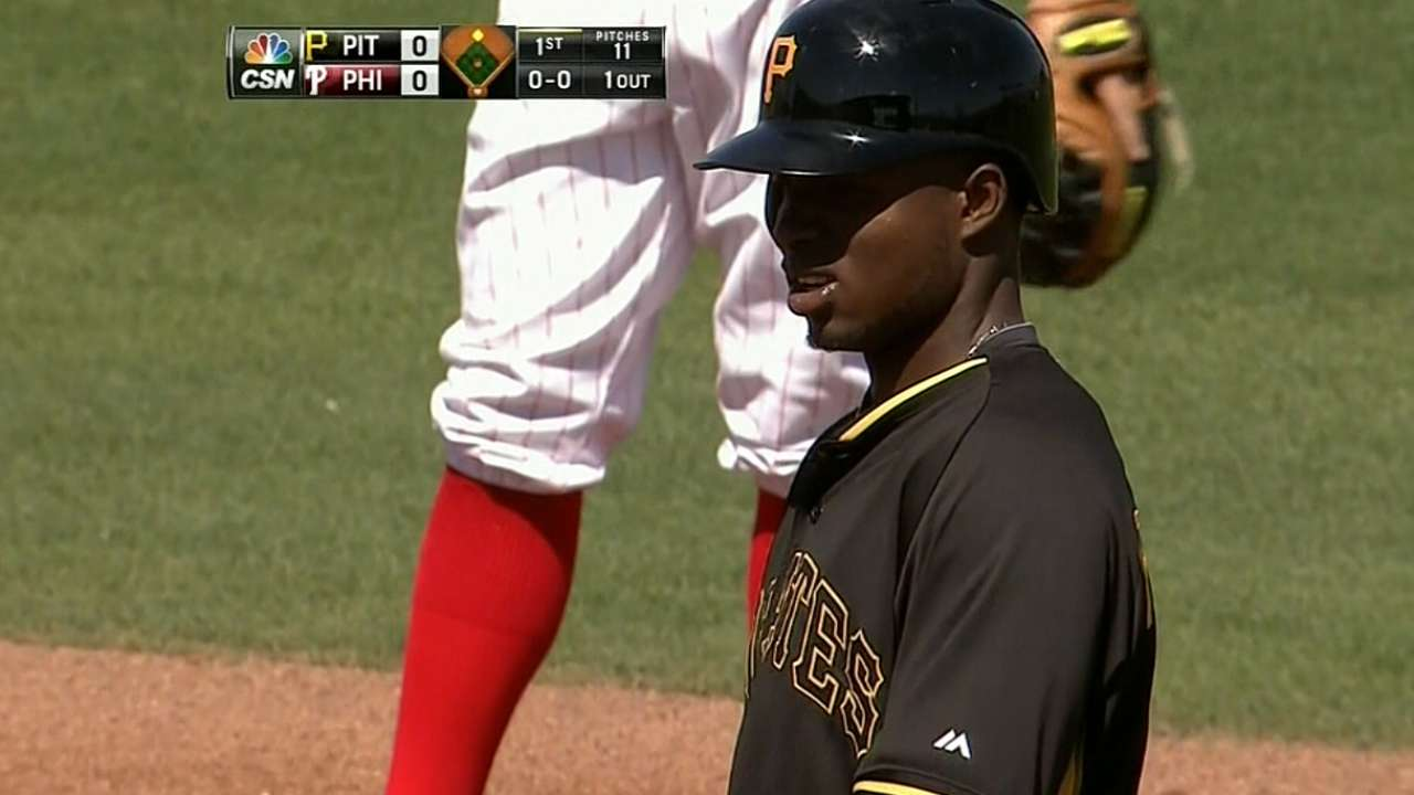 Fulfilling a dream, Polanco begins big league career