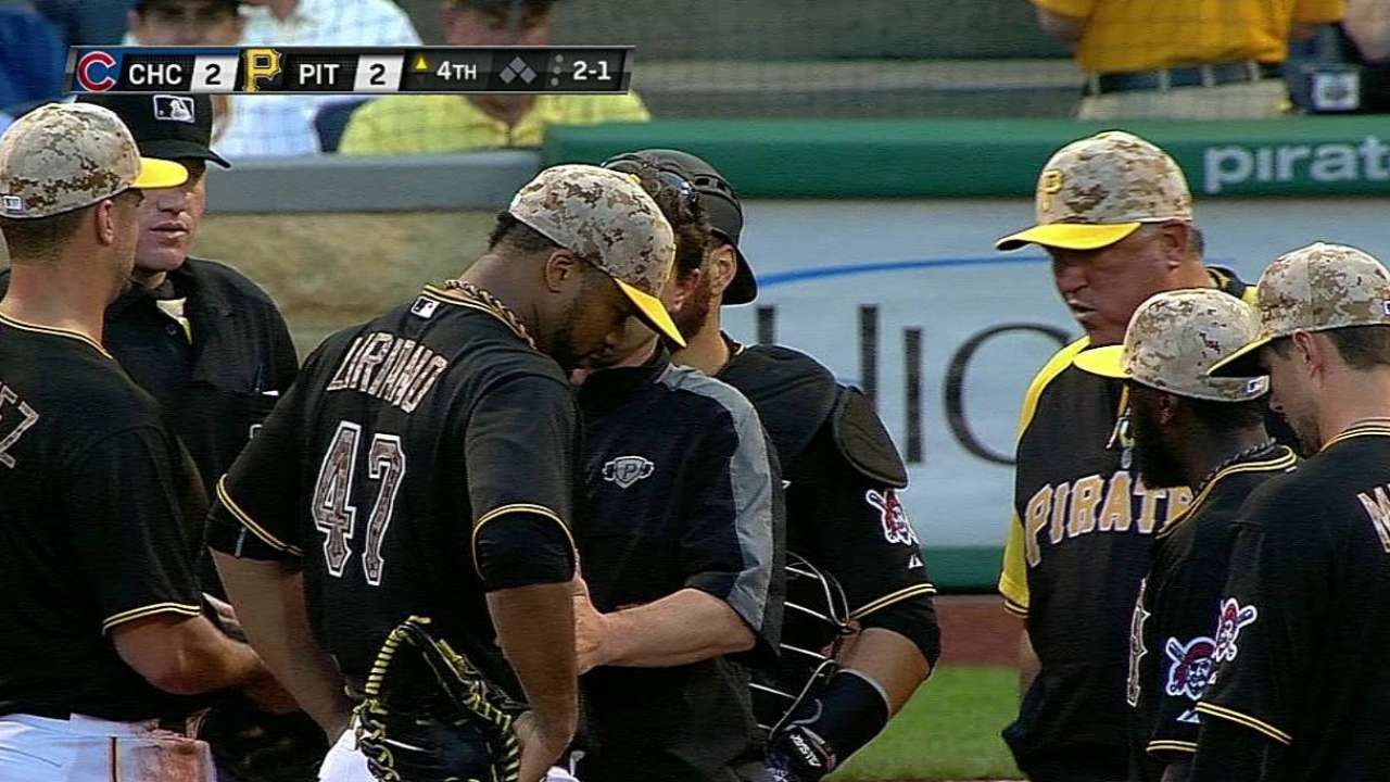 Liriano throws sim game, rehab stint likely next