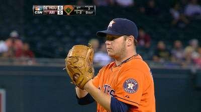 Astros to start Peacock on Friday; Buchanan to 'pen
