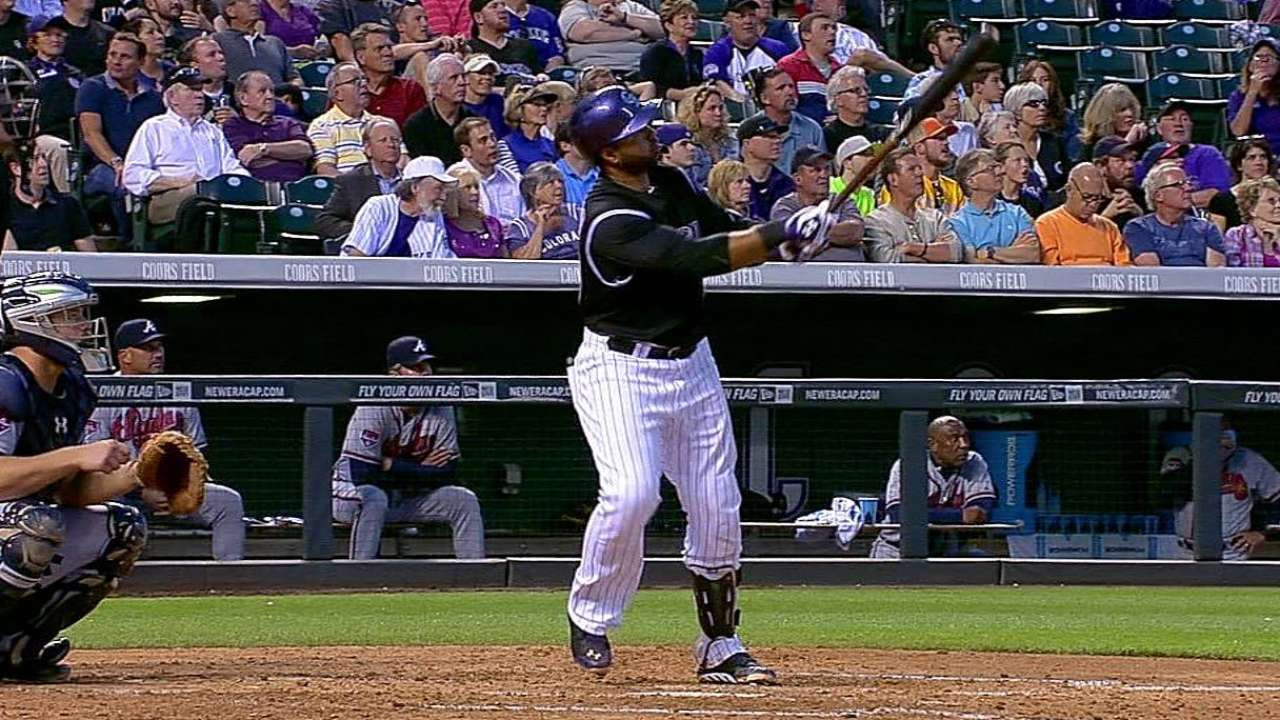 Double-digit runs not enough for Rox vs. Braves