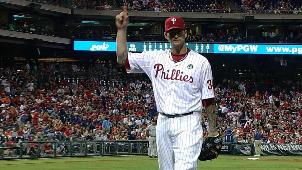 Burnett starts Phillies off right against Padres