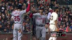 Fister Leads Nationals Past Bumgarner, Giants 2-1