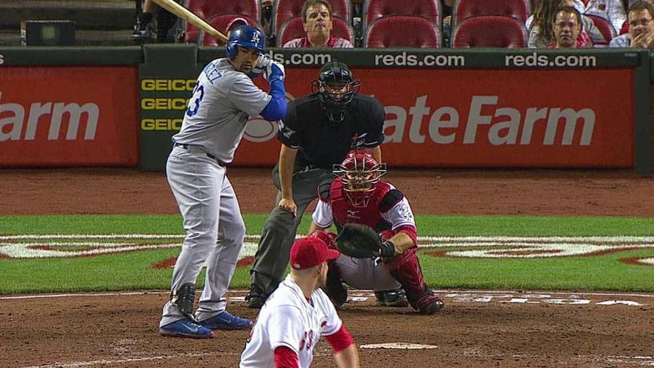 Dodgers exhiben ataque balanceado en Cincinnati