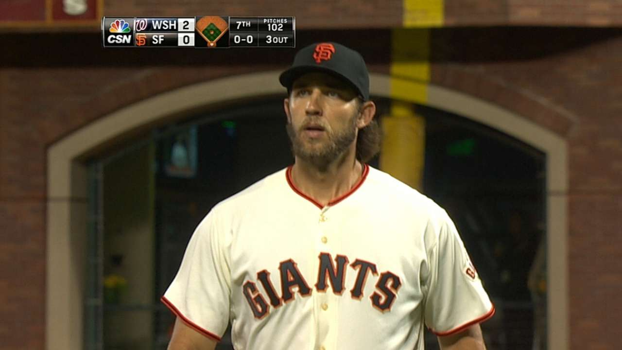Bumgarner takes hard-luck loss as Giants stymied