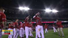Cowgill's shot in 14th gives Halos fifth straight win