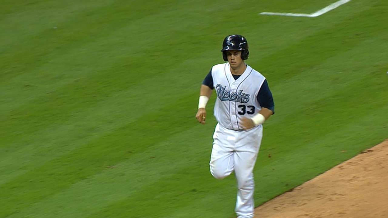 Tucker stars in Corpus Christi's Minute Maid game