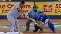 Heavy lumber backs Hughes' gem in series win
