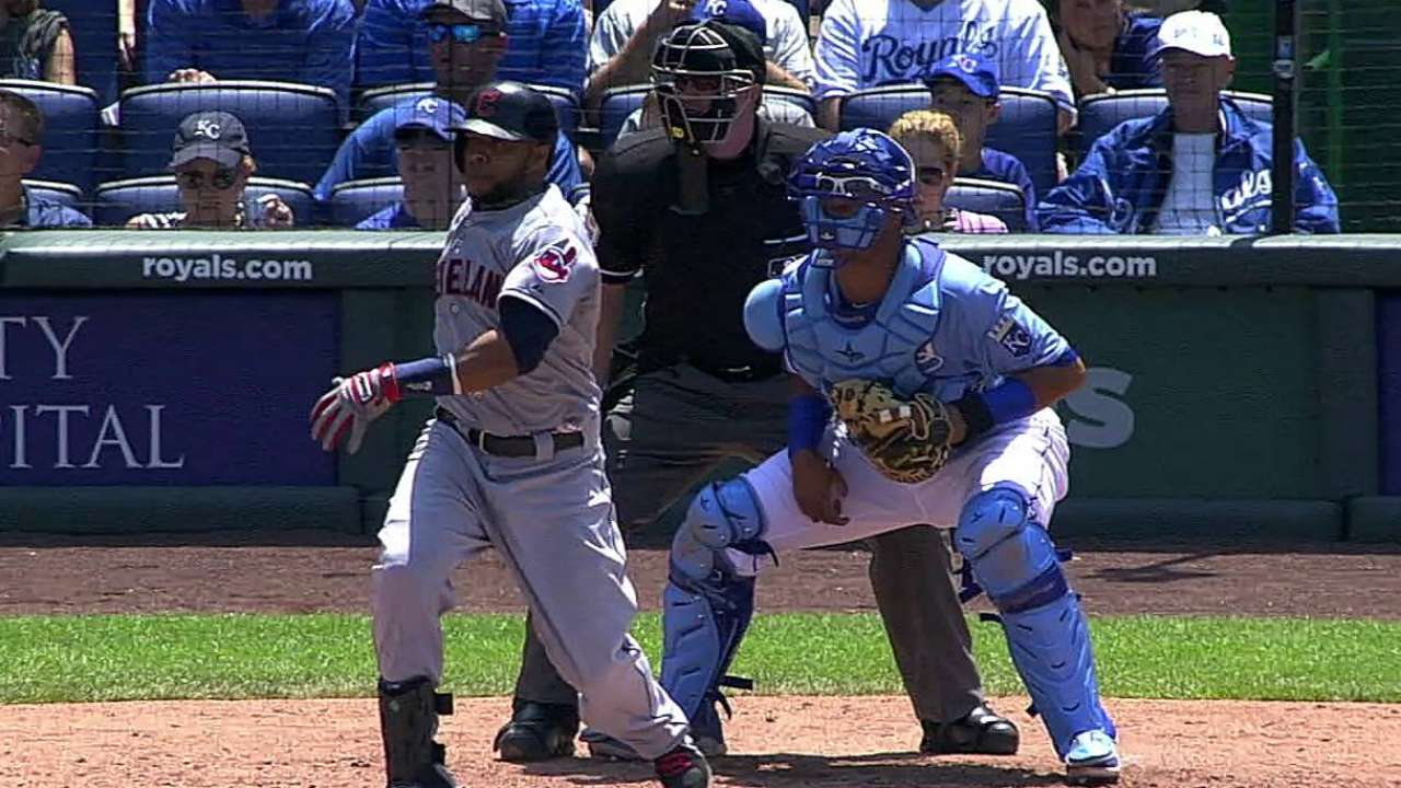 Kansas City road woes continue for Tribe