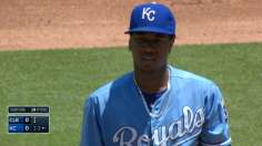 Royals ride Ventura, four sac flies to fourth straight