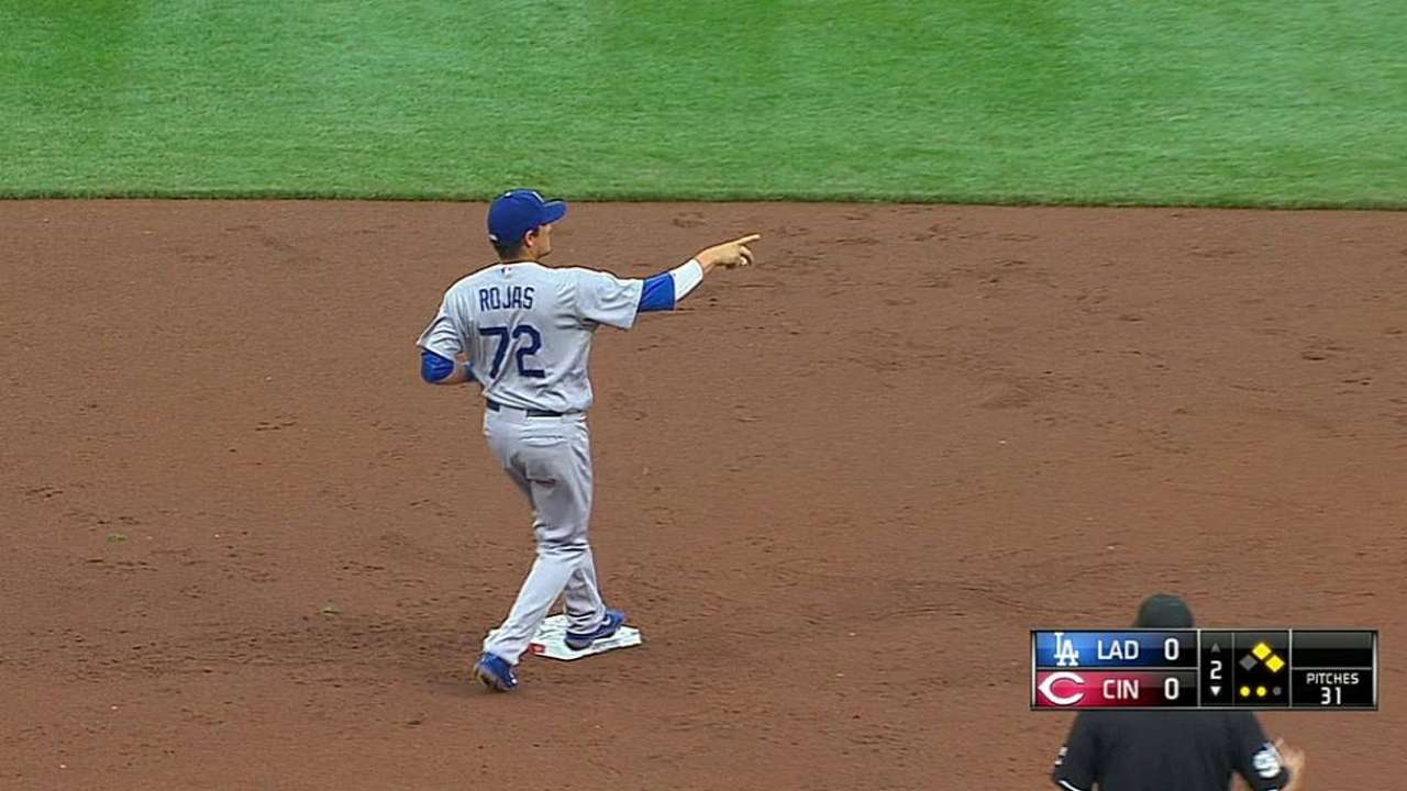 Gordon turns two after terrific sliding catch