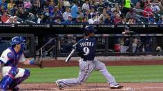 Peralta settles in to lead Brewers past Mets