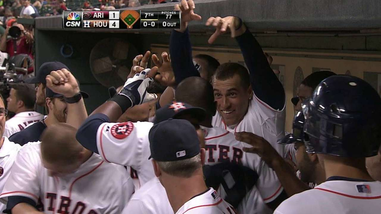 Astros doblegaron a D-backs con joya de Keuchel