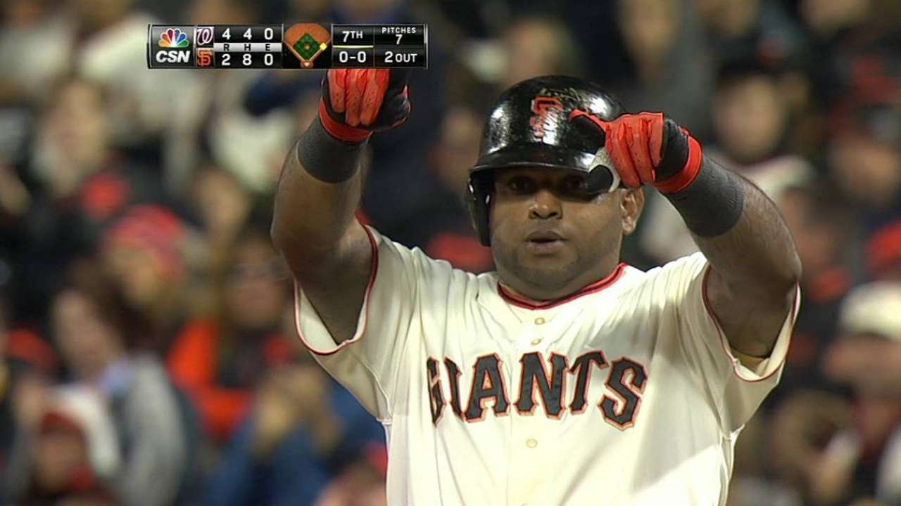 Illness knocks Sandoval out of Giants' lineup