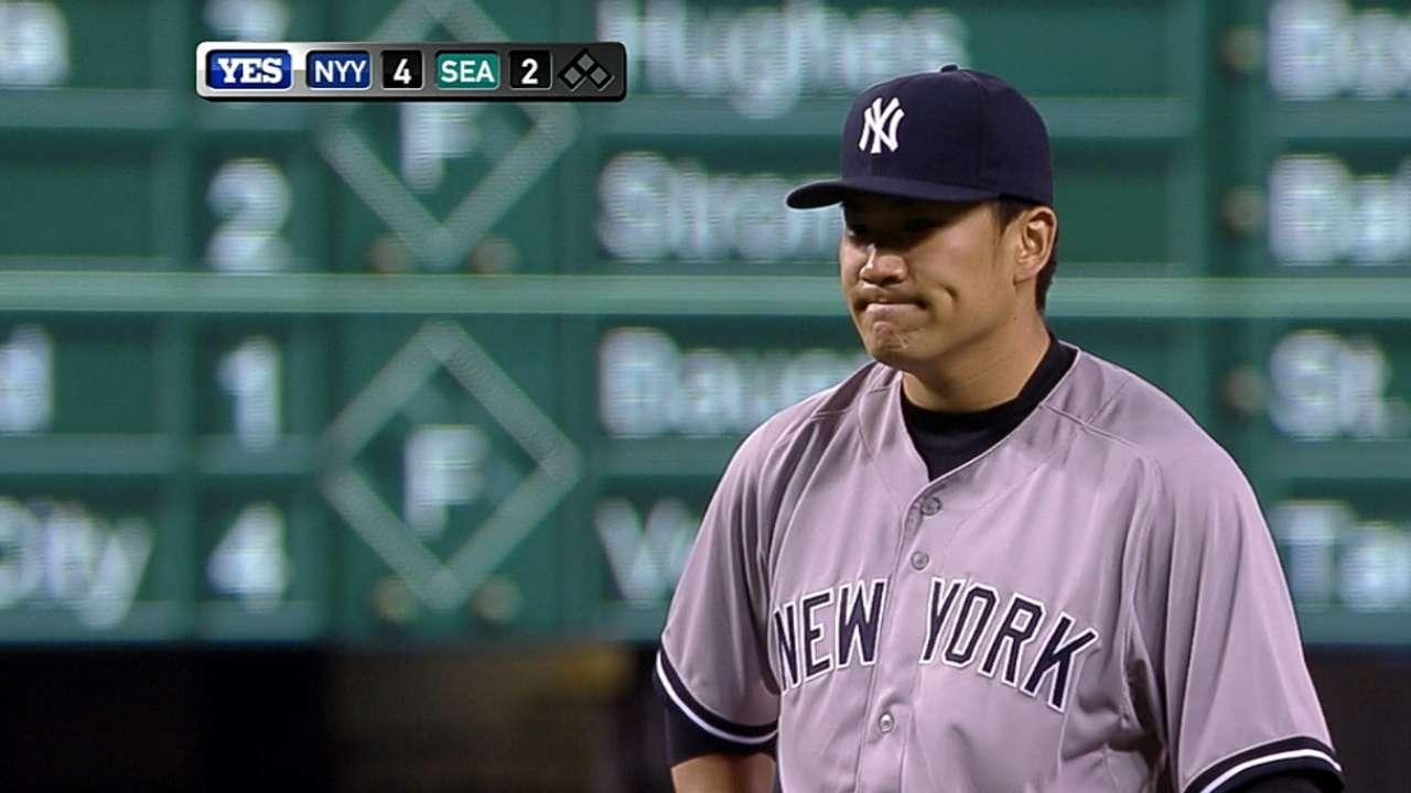 Tanaka lanzó toda la ruta para su 10ma victoria