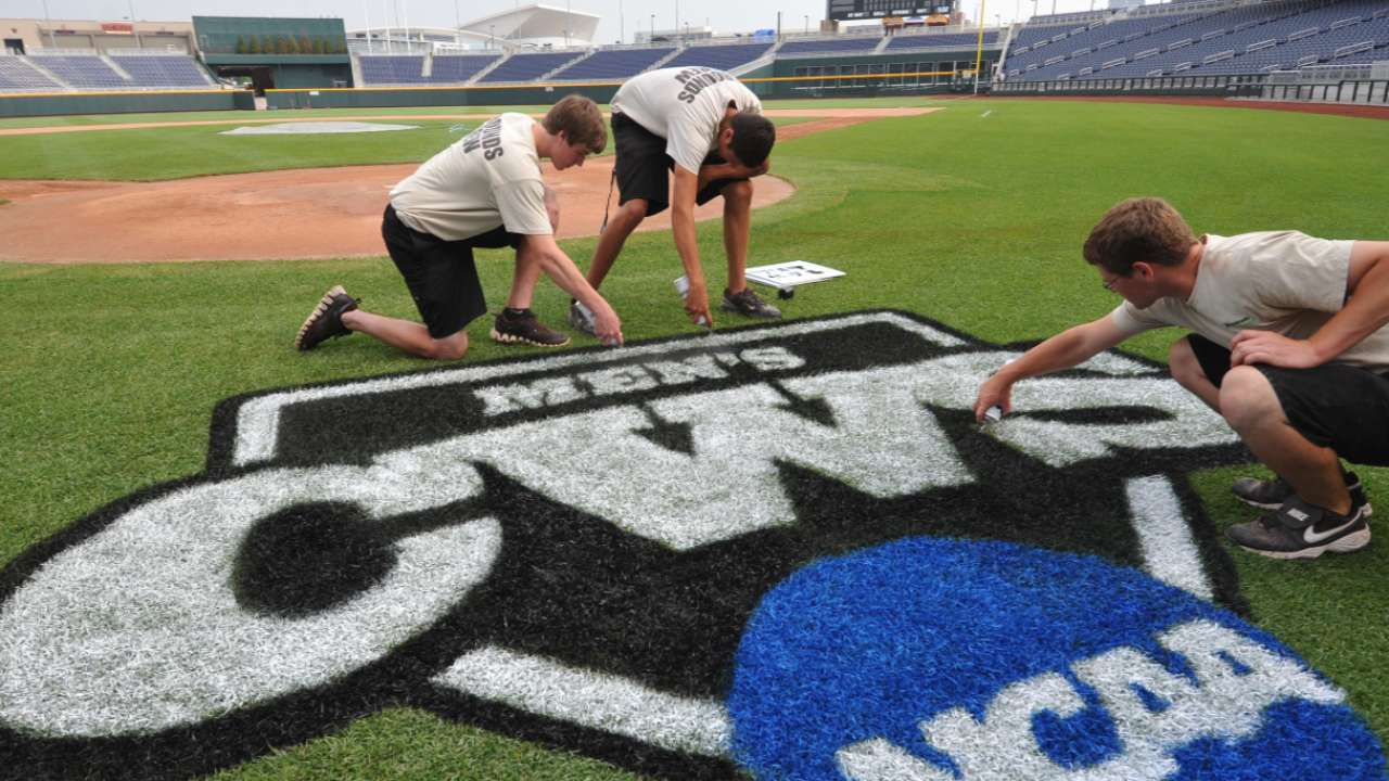 It's all about pitching in the College World Series