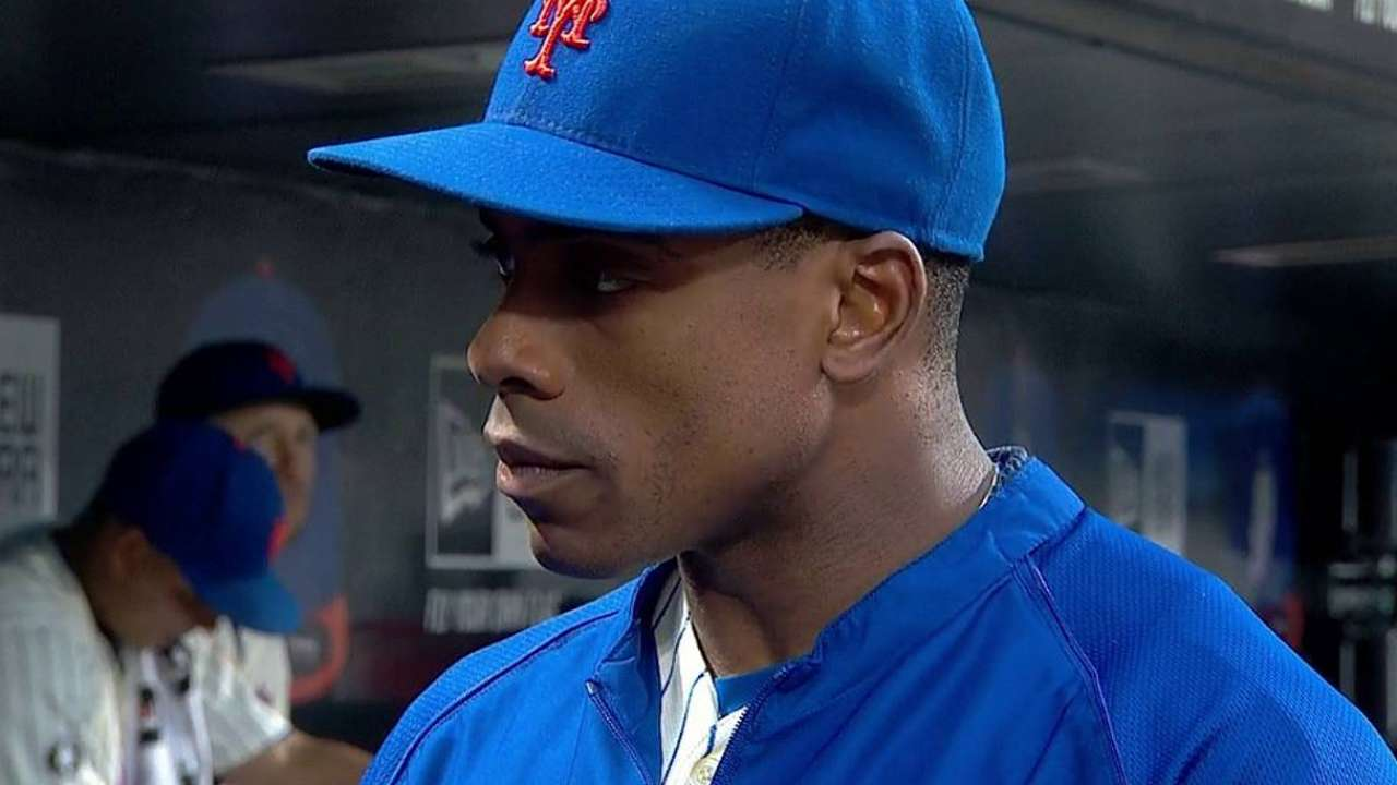 Granderson sits out to rest sore calf