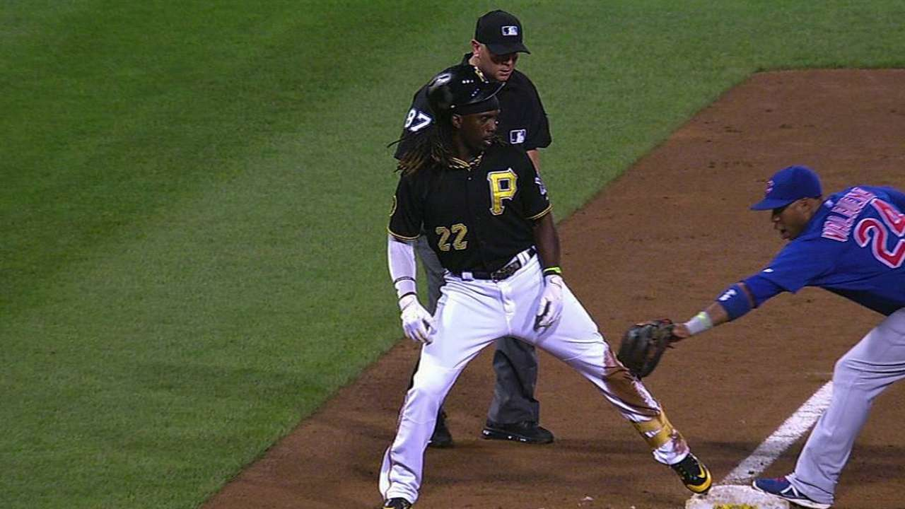 Hurdle loses challenge on Cutch play at third