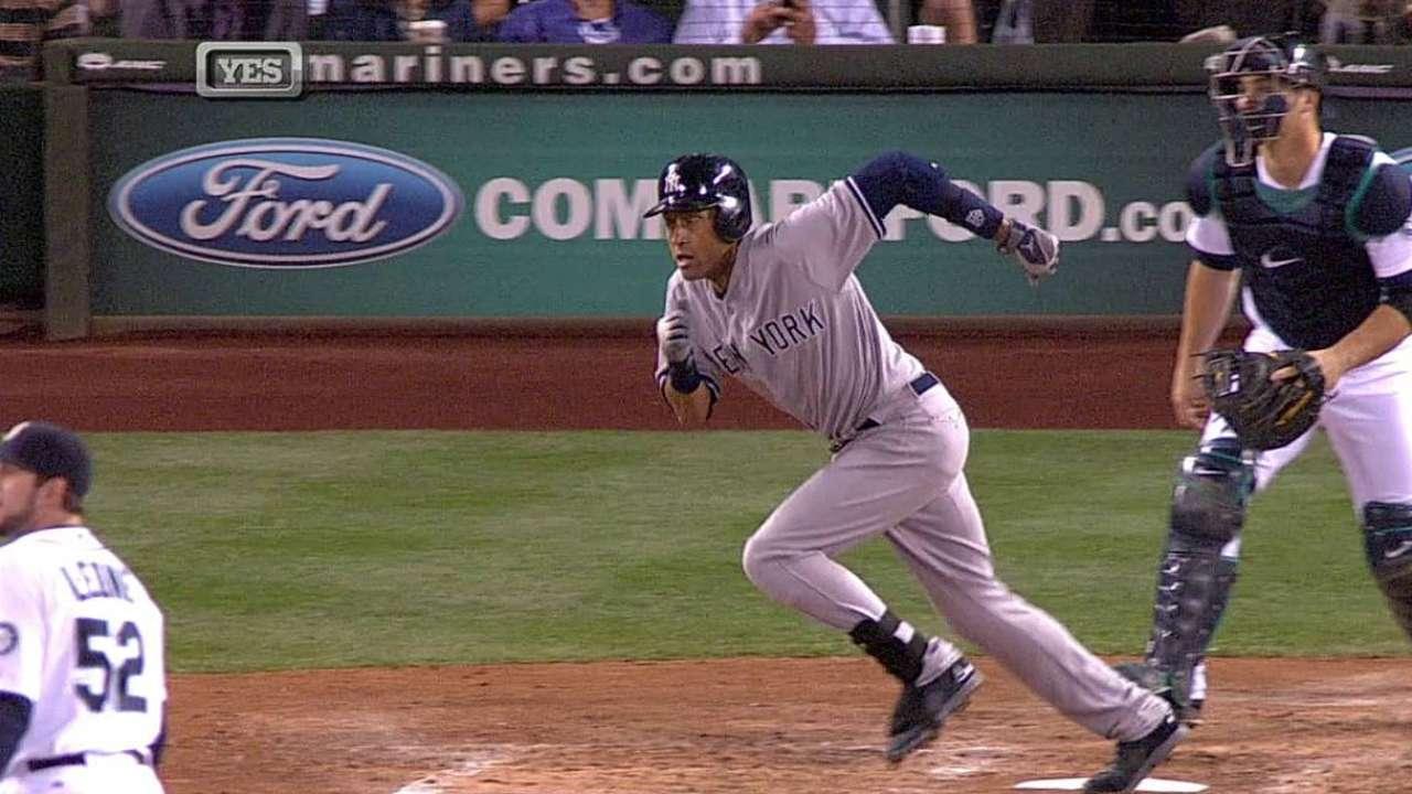 Jeter lidera barrida de los Yankees sobre Marineros