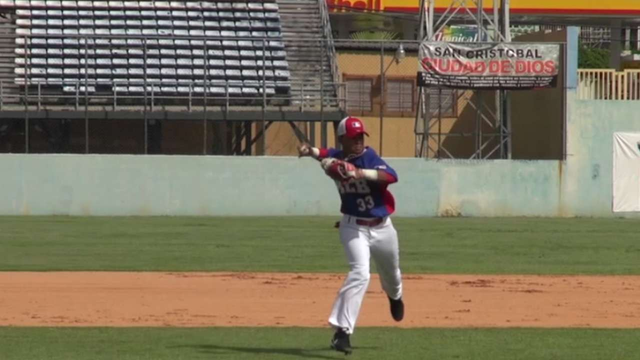 Royals sign 16-year-old prospect Aracena