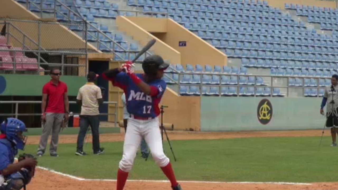 Garcia leads newest group of international prospects