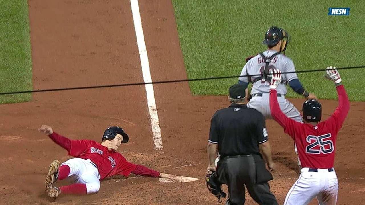 Ofensiva se destapa y Boston apalea a Cleveland