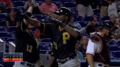 Polanco's first homer punctuates Bucs' win in 13