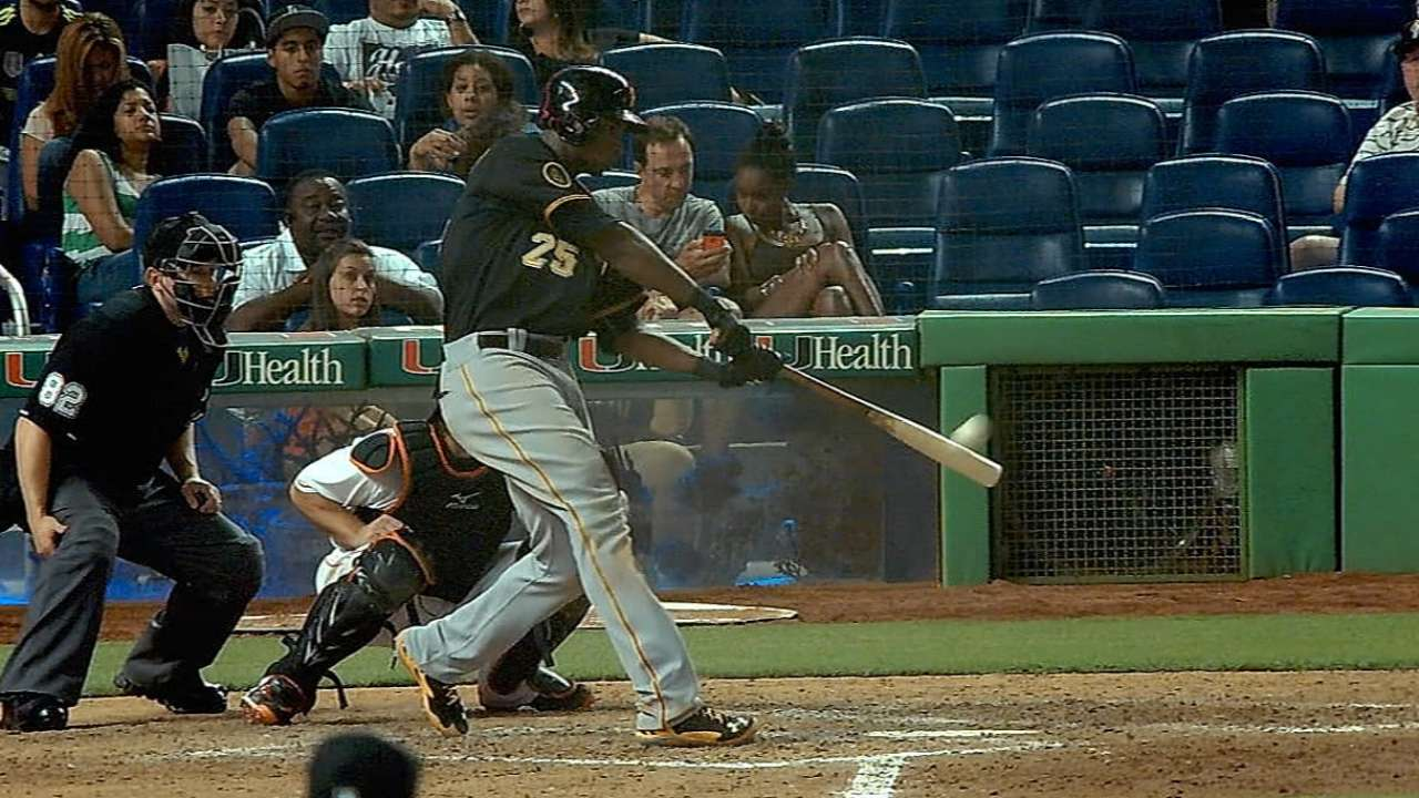 Rookie Polanco giving Pirates a needed lift