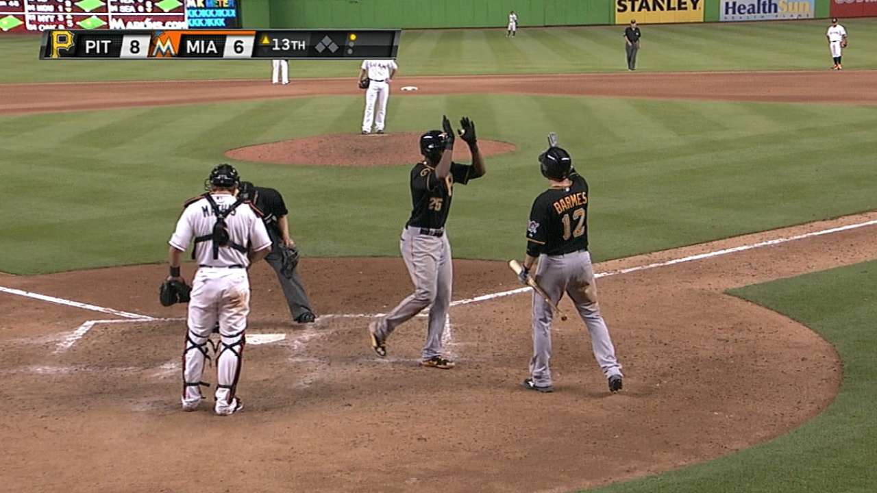 Polanco produces five-hit feat in just fourth game