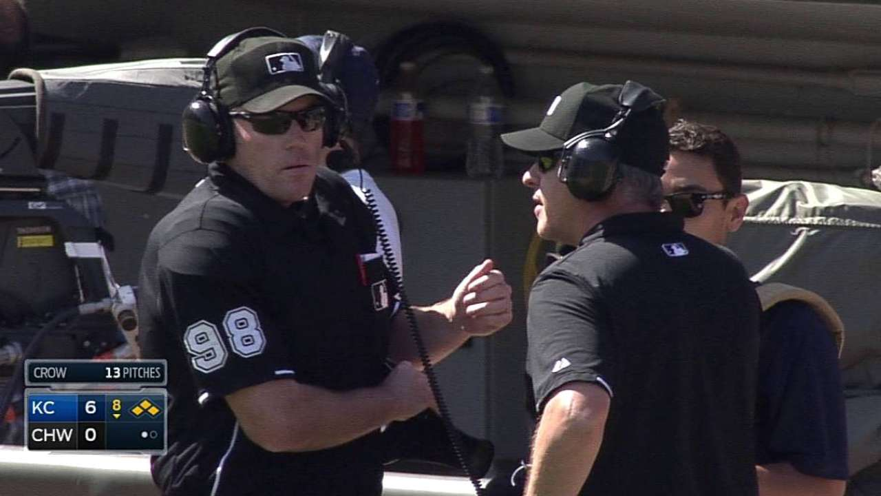 Yost wins challenge to prevent White Sox run