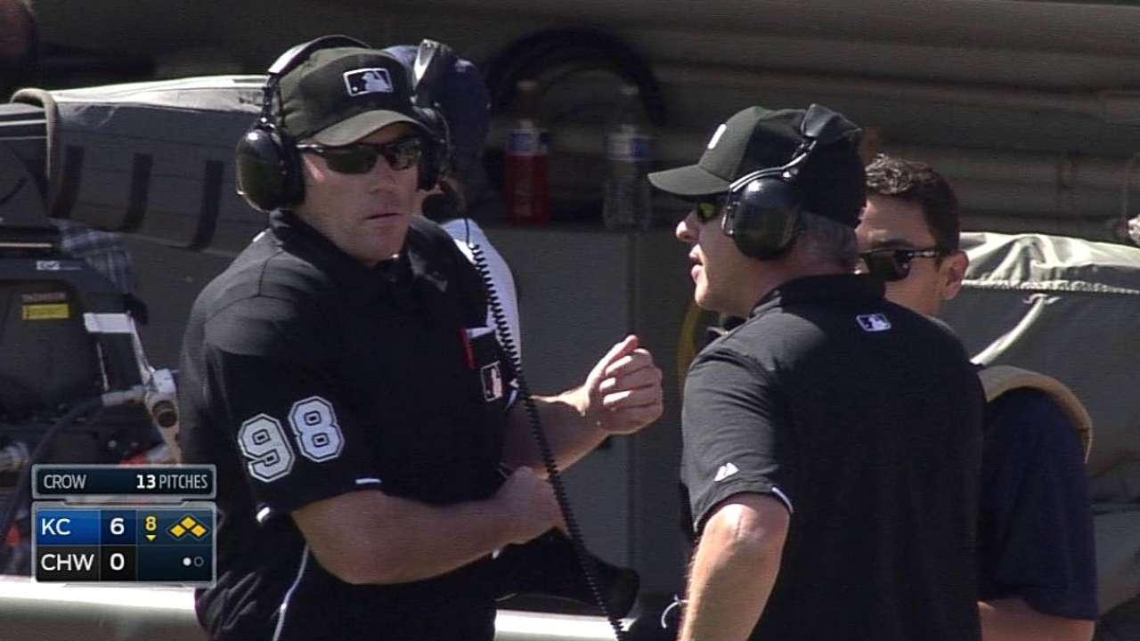 Yost wins challenge to prevent White Sox run