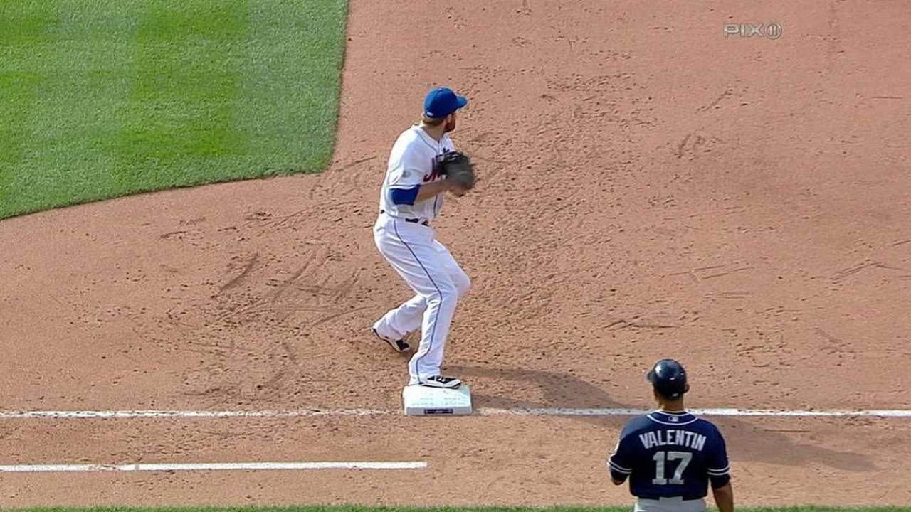 Mets se fueron en blanco ante Hahn y los Padres