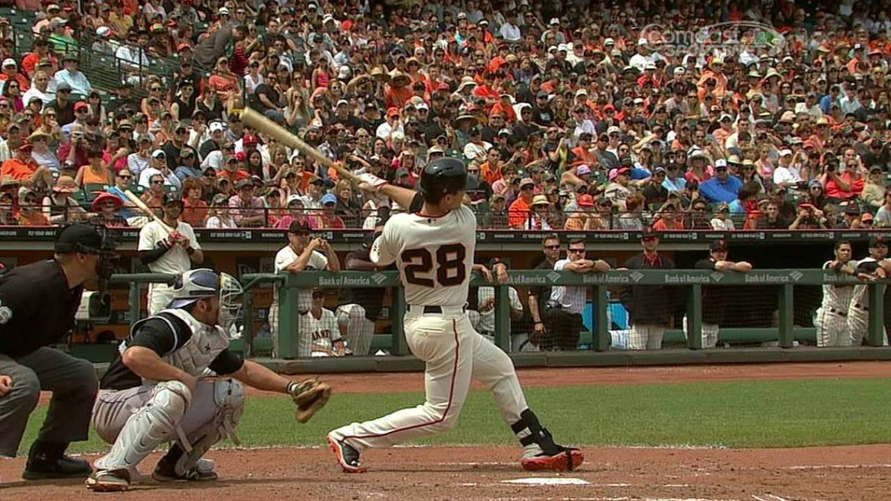 Posey making case for All-Star ballot push