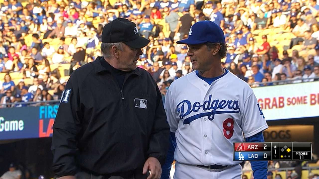Dodgers win challenge, overturning safe call