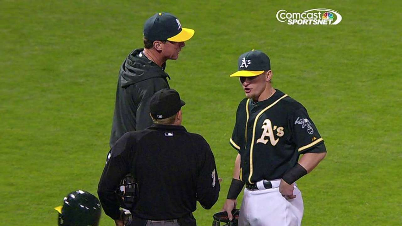 Ejection adds to Donaldson's recent run of frustration