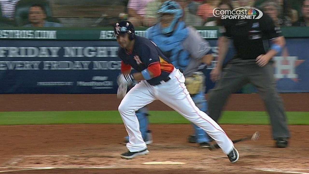 Peacock, Astros se quedaron cortos contra los Rays