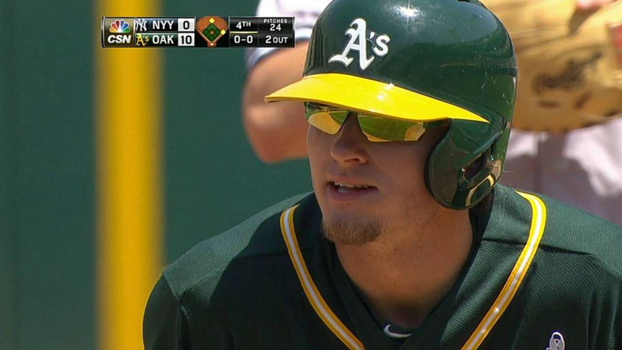 Slumping Donaldson drops in batting order