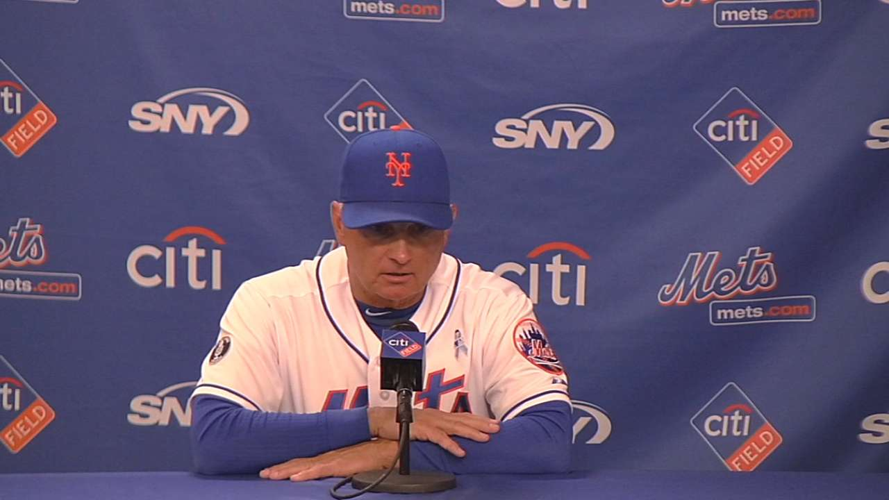 Mets yet to decide odd man out upon Gee's return