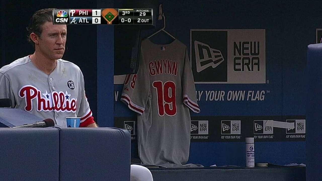 Phillies rally around absence of Gwynn Jr.