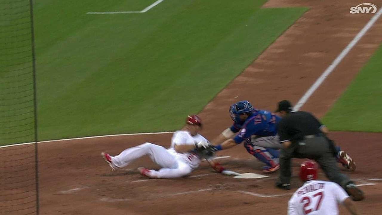 deGrom hit hard as Mets drop opener in St. Louis