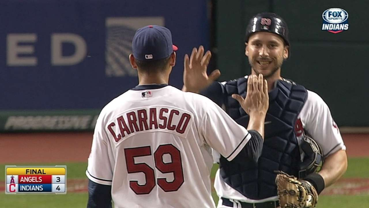 Carrasco building confidence as reliable reliever