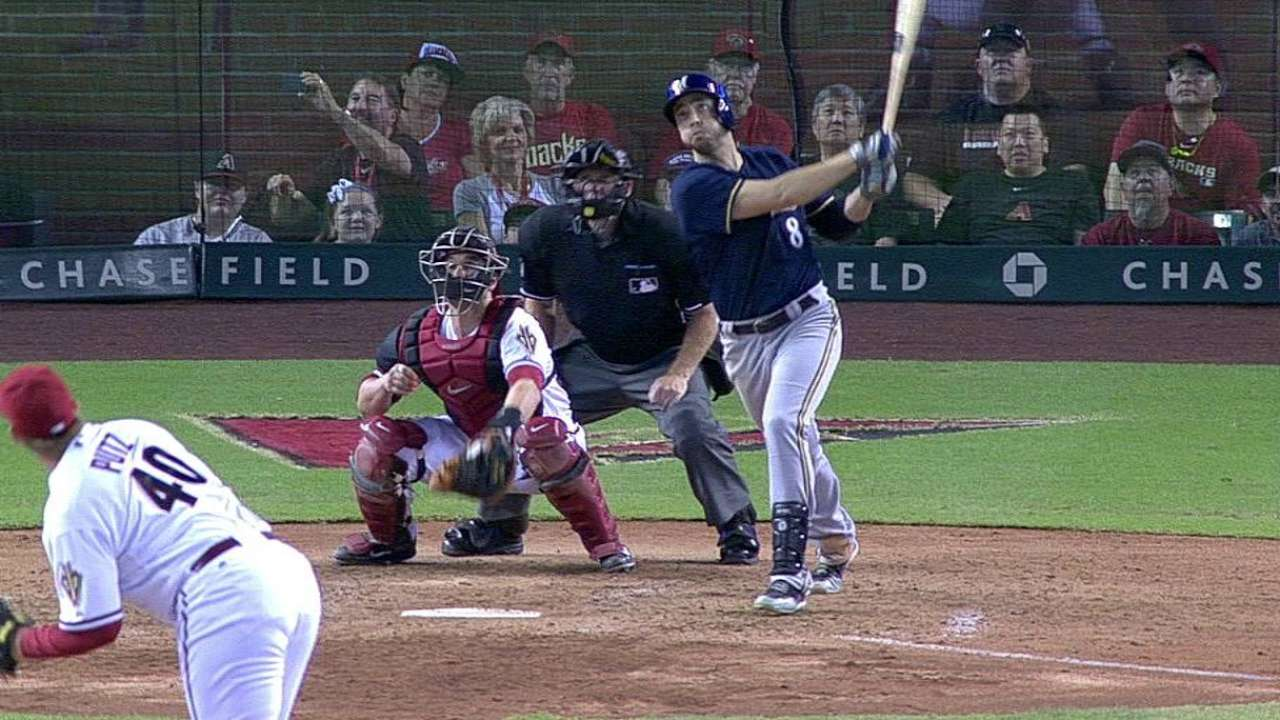 Braun on cusp of 1,000th game for Brewers